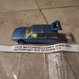 1979 Matchbox Lesney UK Superfast #12 Citroen CX Wagon