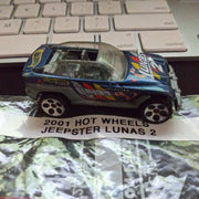 2001 Hot Wheels Jeepster Lunas 2 Variant Die-Cast Car