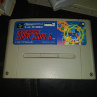 Super Famicom Nintendo SFC Super Scope 6 Japan Cartridge