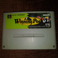 Super Famicom Nintendo SFC Winning Post Horse Racing Japan Cartridge