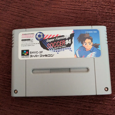 Nintendo Super Famicom Japan SNES Import Super Formation Soccer 94 World Cup Edition