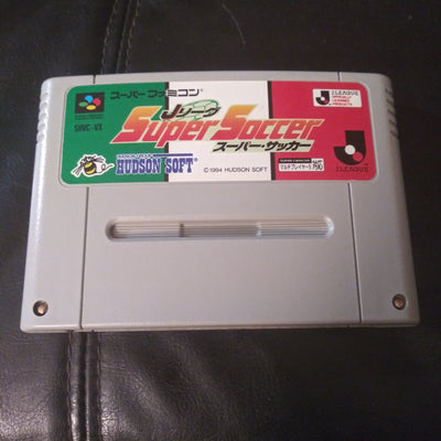 Nintendo Super Famicom Japan SNES Import Game J League Super Soccer 94