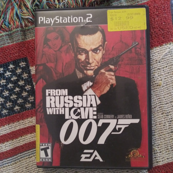 PlayStation 2 PS2 Sony 007 James Bond From Russia With Love Videogame