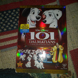 Walt Disney 101 Dalmations 2 Disc DVD Platinum Edition with Outer Sleeve
