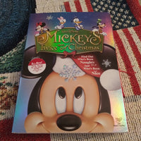 Walt Disney Mickey's Twice Upon A Christmas DVD with Slipcover