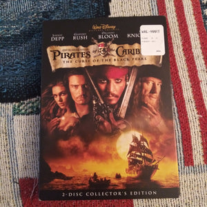 Walt Disney Pirates of Caribbean The Curse of the Black Pearl 2 DVD Collector Edition