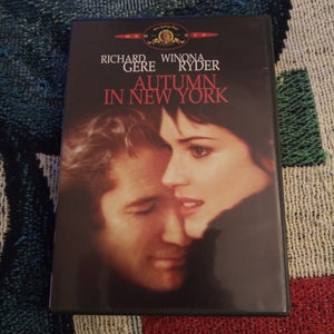 Autumn In New York DVD Richard Gere Winona Ryder