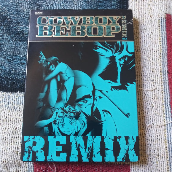 Bandai Cowboy Bebop Remix Session Six Anime DVD with Slipcover