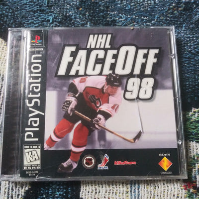 PlayStation 1 PS1 PSOne Sony NHL FaceOff 98 Hockey Complete