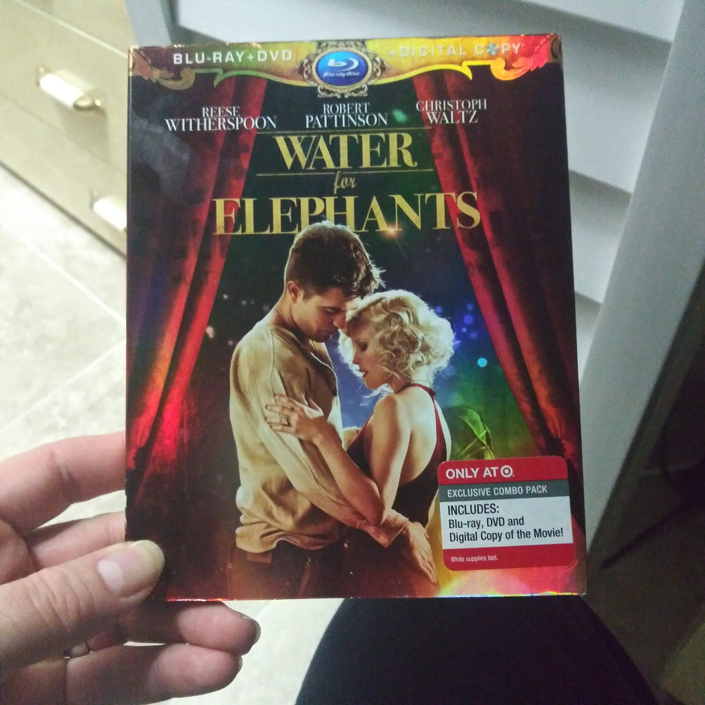 Water For Elephants Blu-Ray DVD and Digital Copy 3 Disc Set with Slipcover Target Exclusive