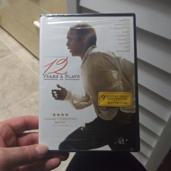 12 Years A Slave DVD Factory Sealed NEW