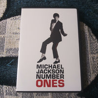 Michael Jackson Number Ones Epic Records Music Video DVD w/Insert