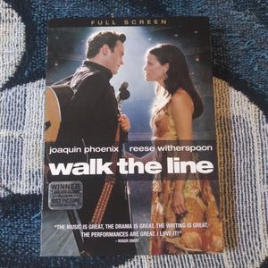 Walk The Line Full Screen DVD With Slipcover Joaquin Phoenix Reese Witherspoon