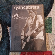 Ryan Cabrera Live At The Wiltern LG Music Concert DVD