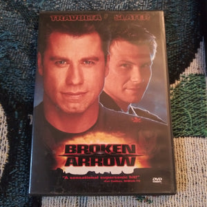 Broken Arrow DVD - John Travolta - Christian Slater