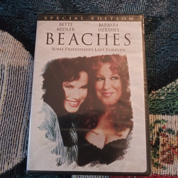 Beaches Special Edition DVD - Bette Midler Barbara Hershey NEW SEALED