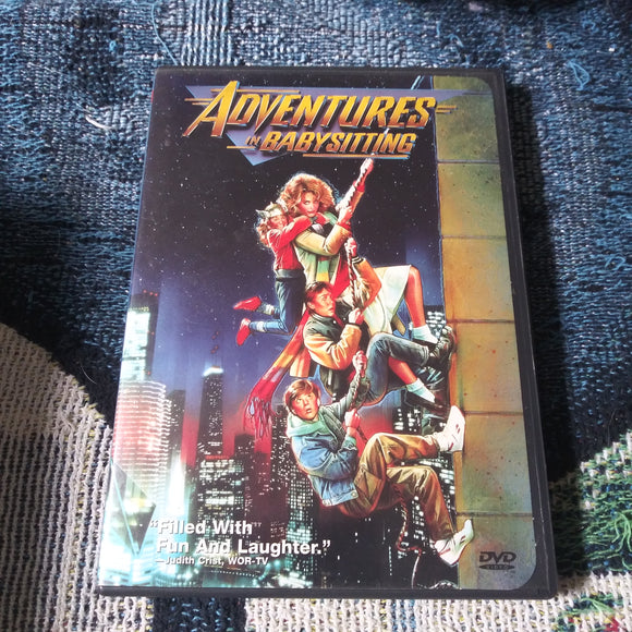 Adventures In Babysitting DVD - Elisabeth Shue