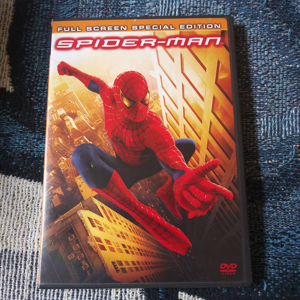 Spider-Man Special Full Screen 2 Disc DVD Set - Kirsten Dunst - Tobey Maguire Spiderman