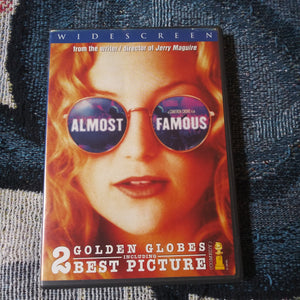 Almost Famous Widescreen DVD - Kate Hudson - Former Blockbuster Rental