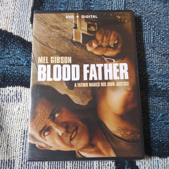 Blood Father - Factory Sealed NEW DVD - Mel Gibson - Digital Copy and DVD