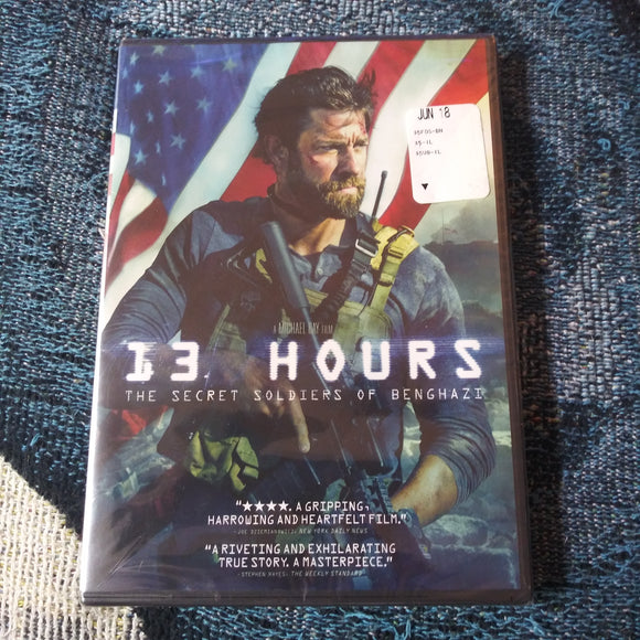 13 Hours - The Secret Soldiers of Benghazi - Factory Sealed NEW DVD