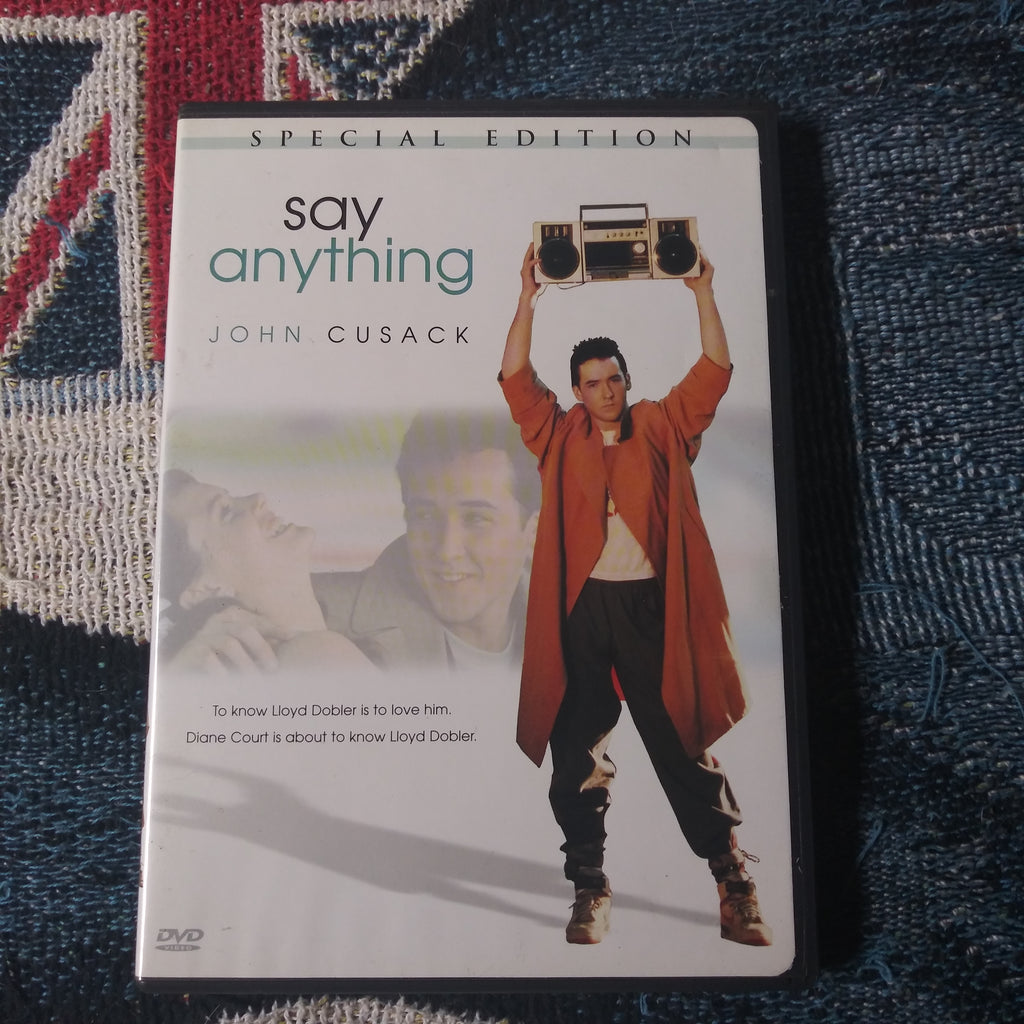 Say Anything Special Edition DVD - John Cusack