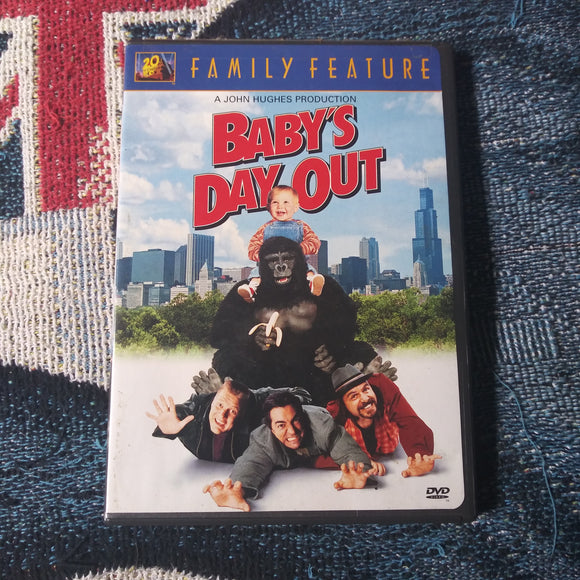 Baby's Day Out Family Feature DVD - John Hughes Production