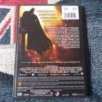 Batman Begins Widescreen DVD - Christian Bale - Katie Holmes - Michael Caine