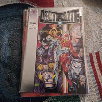 Deathmate Prologue Silver Foil Comicbook - Image & Valiant Comics Crossover