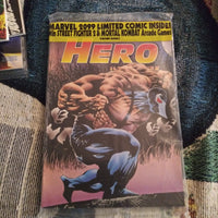 Hero Illustrated Issue #4 Bane - Factory Sealed with Marvel 2099 Comic & Trading Cards