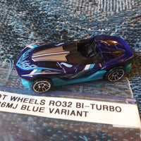Hot Wheels Malaysia RO32 Bi-Turbo 1186MJ Blue Variant