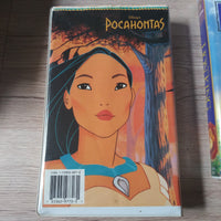 Walt Disney Pocohontas Masterpiece Edition Clamshell VHS Tape