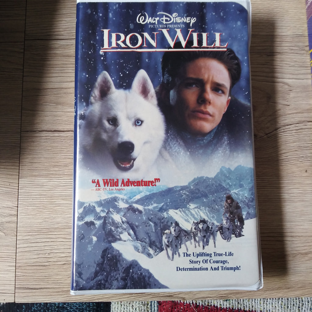 Walt Disney Iron Will Clamshell VHS Tape - Mackenzie Astin - Kevin Spacey