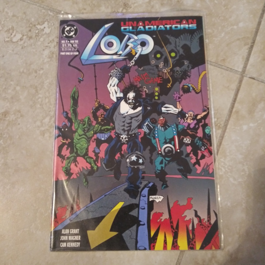 Lobo Unamerican Gladiators #1 (1993) - DC Comics NM