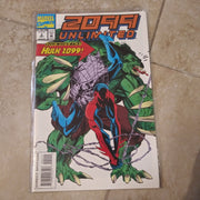 2099 Unlimited #2 - Marvel Comics - Hulk 2099 - Spiderman 2099