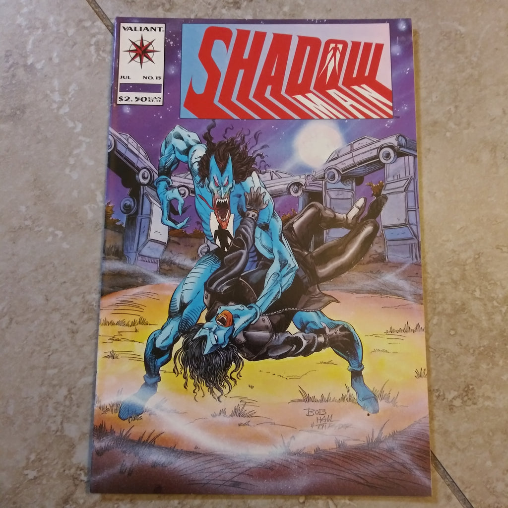 Shadowman #15 - Valiant Comics