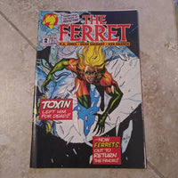 The Ferret #2 - Malibu Comics