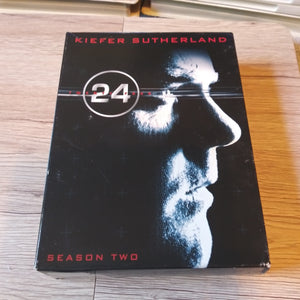 24 Twenty-Four Season 2 DVD Box Set - Kiefer Sutherland