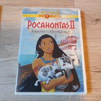 Walt Disney Gold Collection DVD - Pocahontas II Journey To A New World with insert