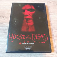 House of the Dead Horror Artisan DVD - With Insert