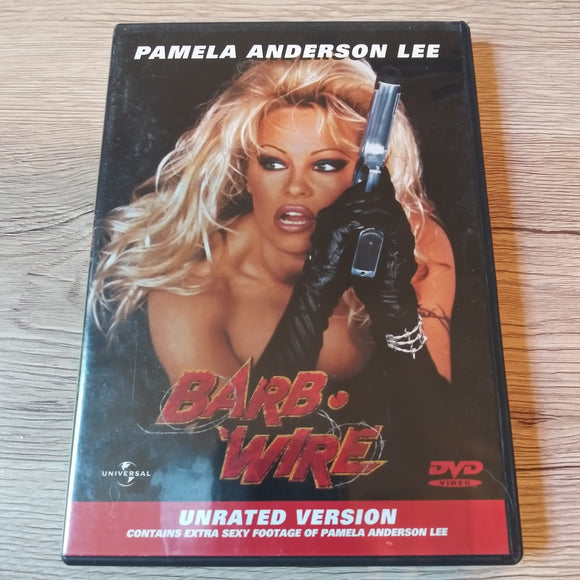 Barb Wire Unrated DVD - Pamela Anderson - Based on Dark Horse Comic