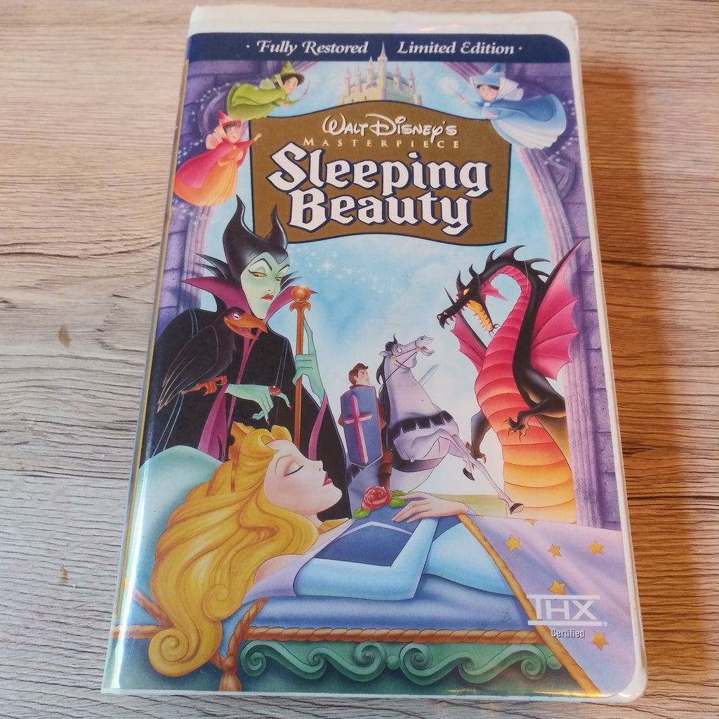 Walt Disney Masterpiece Sleeping Beauty - Clamshell VHS Tape