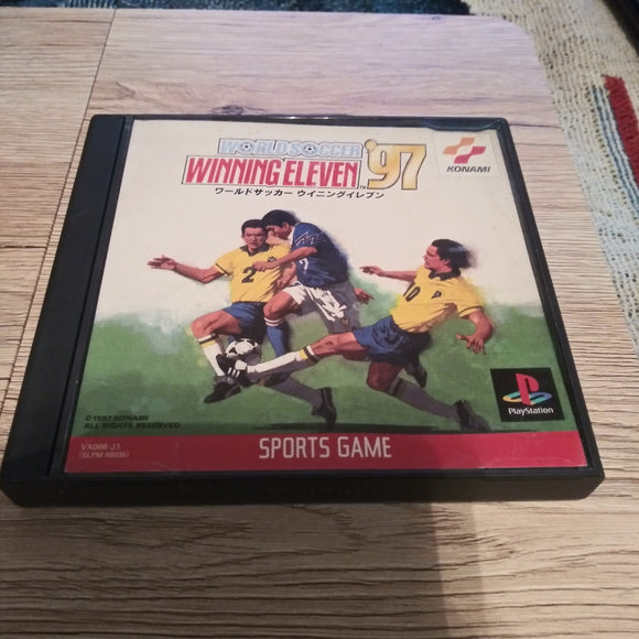 PlayStation 1 One PS1 World Soccer Winning Eleven '97 Japan Import Game Complete Videogame