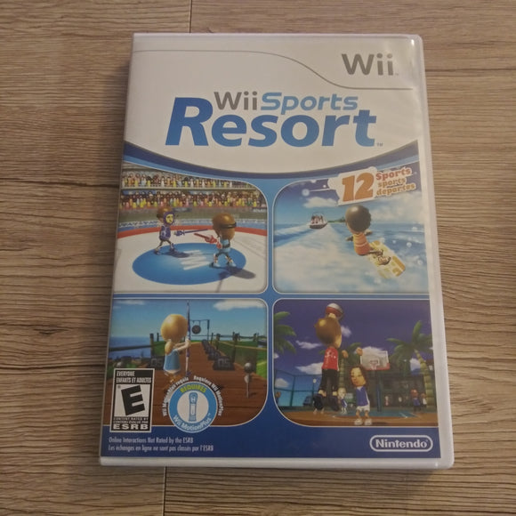 Wii Nintendo Wii Sports Resort Complete - Case Instructions Disc - Video Game