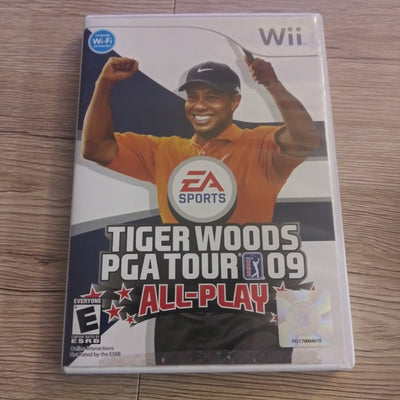Nintendo Wii Tiger Woods PGA Tour '09 All-Play - EA Sports - Videogame - Complete