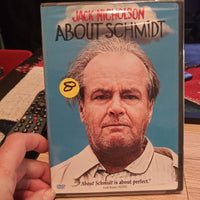 About Schmidt Factory Sealed NEW DVD - Jack Nicholson
