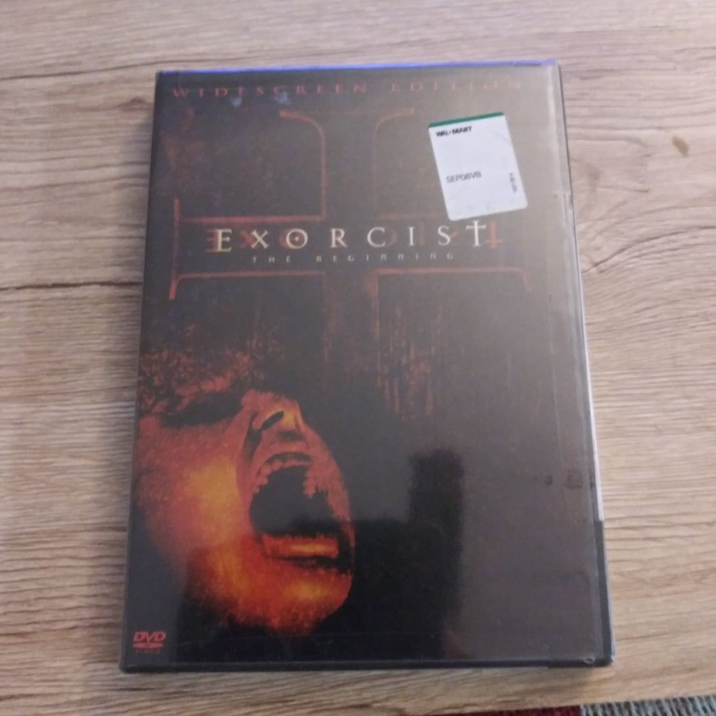 Exorcist The Beginning - Horror Widescreen DVD - Factory Sealed / New
