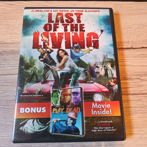Last of the Living DVD with Bonus Play Dead Movie - Zombies