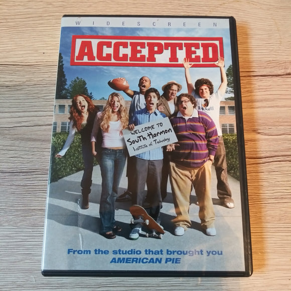 Accepted - Widescreen DVD - Comedy