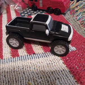 McDonalds Black and Grey Hummer Pick-Up Truck